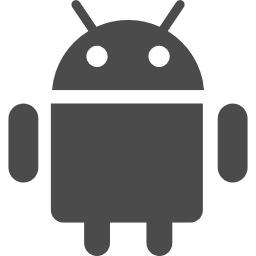 Androidに変更しました。