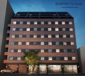 商業施設 CGパース rendering Architecture interior