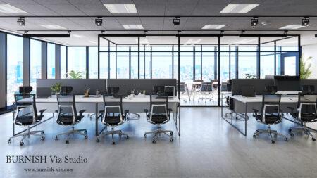 rendering Architecture interior