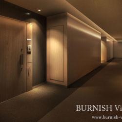内廊下 建築CGパース | BURNISH Viz Studio
